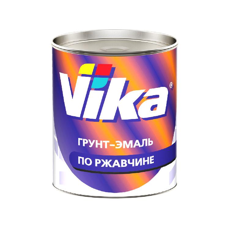 Vika (Вика) Грунт-эмаль RAL3020 транспортно-красный, 900мл.