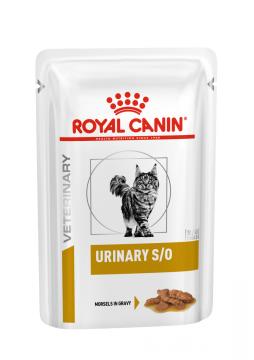 Роял канин Уринари С/О для кошек соус пауч (Urinary S/O Feline ) 85г.