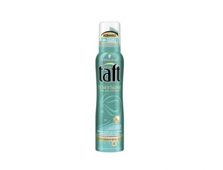 Пена д/волос Taft 150мл Густые и Пышные д/тонких и ослаблен.волос