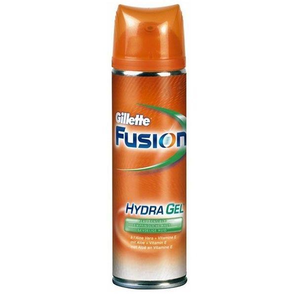Гель д/бритья Gillette Fusion д/чувствительной кожи 200мл