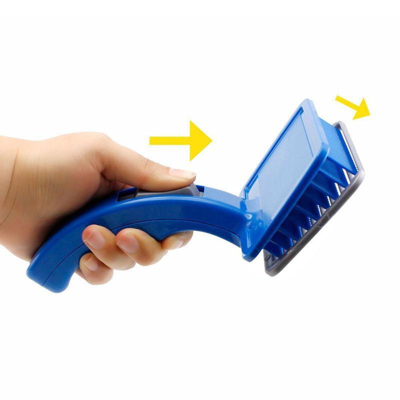 Самоочищающаяся щётка для груминга животных Self-Cleaning