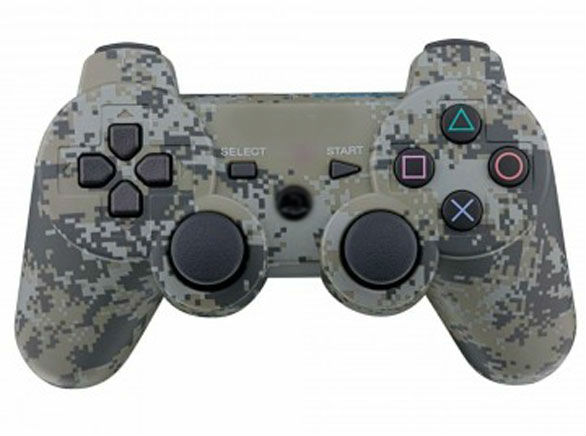 Геймпад для Playstation 3 dualshock ( джойстик PS3 ) камуфляж