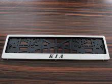 Рамки номерного знака, c лого, сталь, 2шт