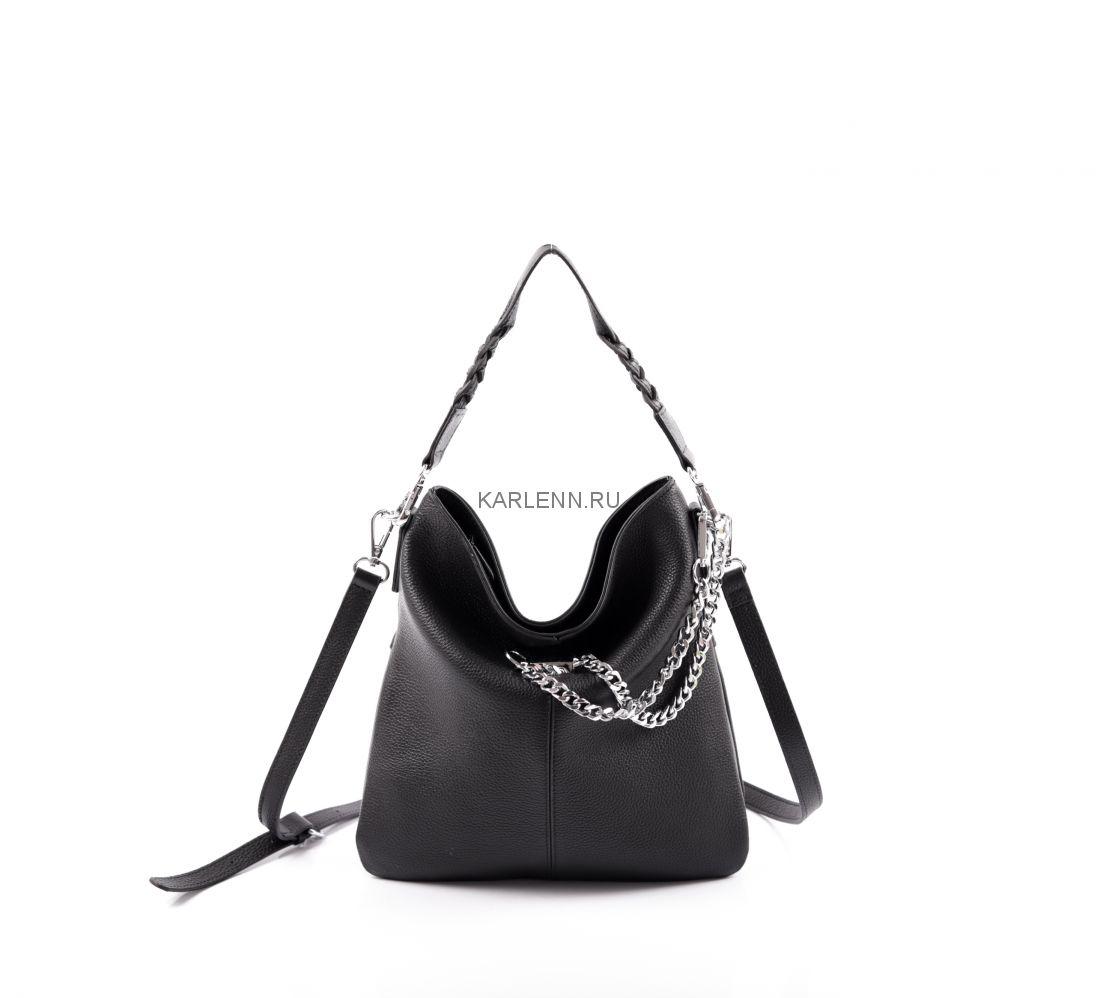 Женская сумка небольшого размера V.Fabbiano (чёрная)