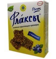 Флаксы с черникой Компас здоровья - 120 гр