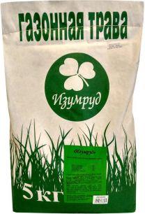Смесь семян для газона Изумруд Универсальная, 5 кг - все для сада, дома и огорода!