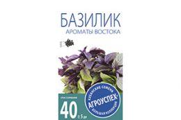 СЕМЕНА БАЗИЛИК 'АРОМАТЫ ВОСТОКА' 0,3 Г (10/500) 'АГРОУСПЕХ'