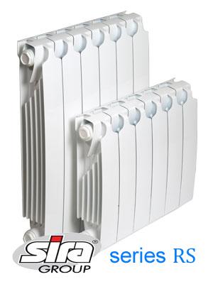 Биметаллический радиатор SIRA RS 500 /4cекции