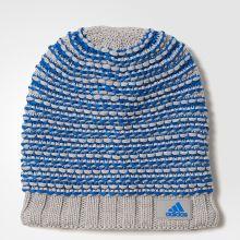 Женская шапка adidas Climaheat Croch Beanie серая