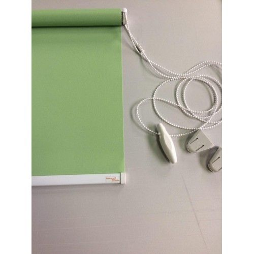 Рулонные шторы, цвет зеленый