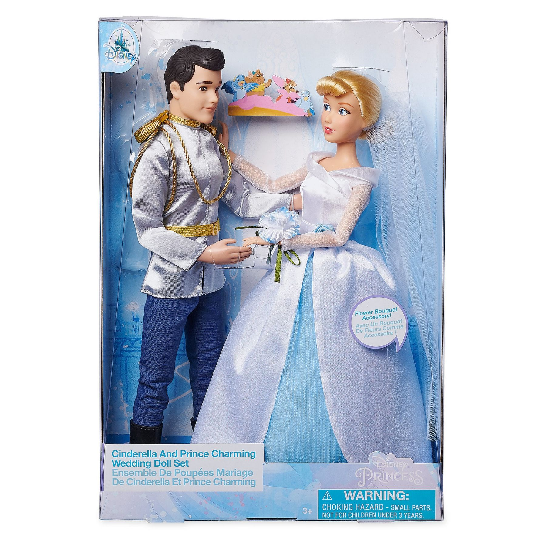 Золушка и Принц свадебный набор Дисней