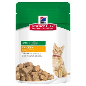 Hill's Science Plan Feline Kitten with Chicken 85 гр.