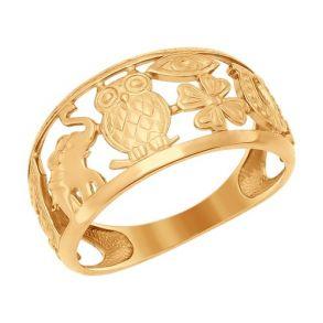 Кольцо SOKOLOV 017098 золото 585