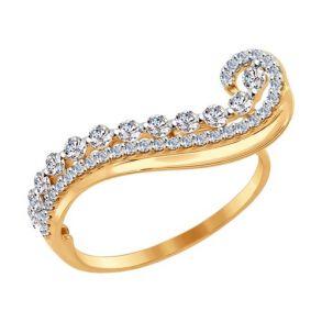 Кольцо SOKOLOV 017079 золото 585