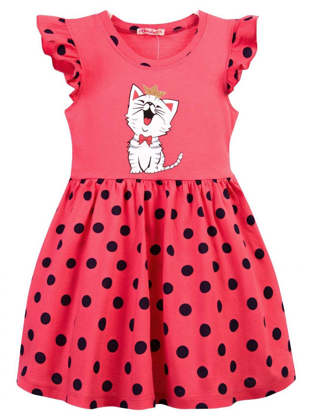 Платье для девочки 3-7 лет Bonito BJ1168P3