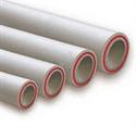 Труба полипропиленовая Kalde PN 20 (Fiber) d=90 х 15,0 mm армированная (стекловолокно) цвет белый