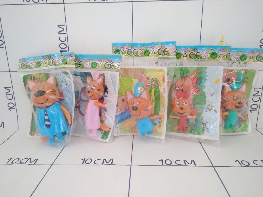 Три кота, персонажи мультфильма