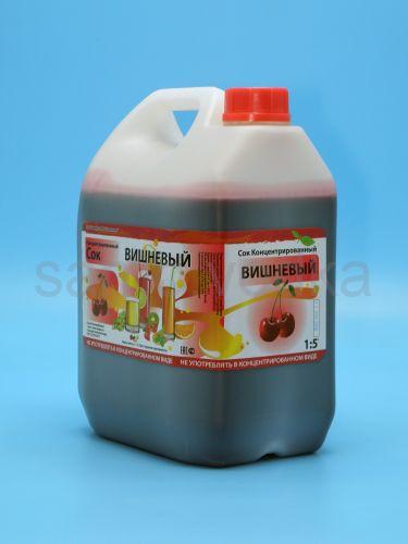 Сок вишневый  концентрированный 5 л