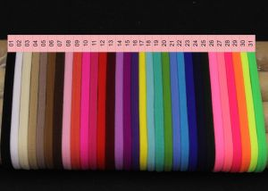 """Резинка-повязка """"one size"""", диаметр 10,5см, окружность 33см, цвет № 18  (1уп = 12шт)"""
