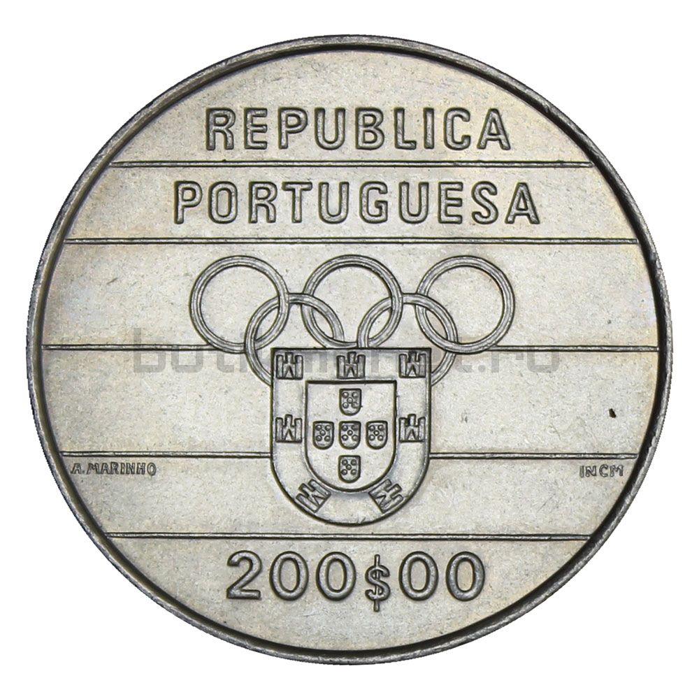 200 эскудо 1992 Португалия XXV летние Олимпийские Игры в Барселоне