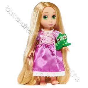 Кукла Рапунцель в детстве с хамелионом 40 см 19г.