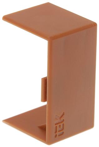 Соединитель на стык 40х16 КМС дуб