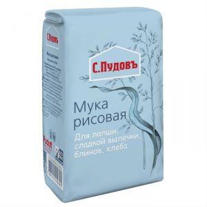 Рисовая мука С.Пудовъ, 500 г
