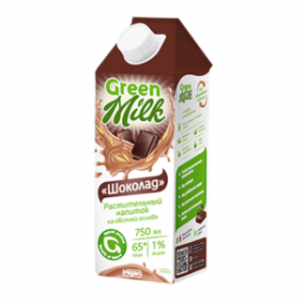 "Green Milk Süd yulaf ""Şokolad"" 750 ml"