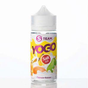 Е-жидкость S Team Yogo- Груша-банан, 100 мл.