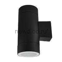 Светильник уличный двухсторонний GX53S-2B-ЦИЛИНДР под лампу GX53 230B черный IP65 IN HOME