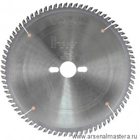 Пильный диск для древесно-плитных материалов поперечный рез 250x30x3.2/2.2x80 MW DIMAR  арт.90105706