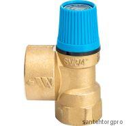 """Клапан предохранительный SVW 1/2""""x3/4"""" 8bar водоснаб. Watts"""
