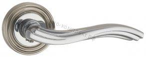 Ручка раздельная VENTO ML SN/CP-3 матовый никель/хром АРТ: 33209