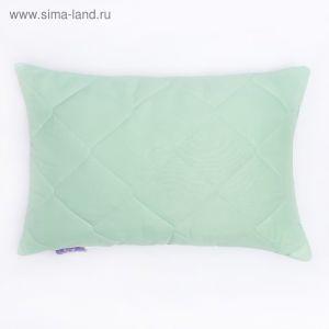 Подушка высокая 40*60см, зел., бамбуковое волокно/натур.латекс, микрофибра, пэ100% 2724875