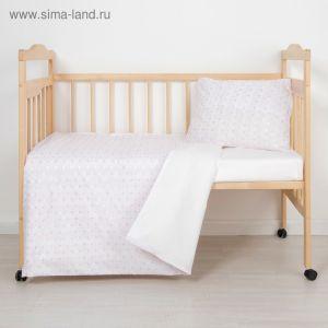 Детское постельное бельё (3 предмета), цвет МИКС 6032 1999355