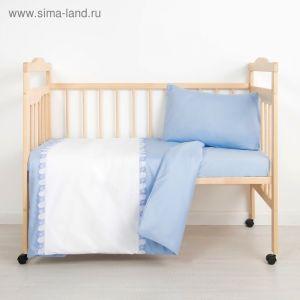 Детское постельное бельё (3 предмета), цвет МИКС 6035 1999358