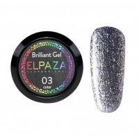 ELPAZA Brilliant Gel гель-краска 3