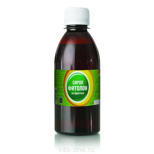 Сироп с хлорофиллом на фруктозе ФИТОЛОН 250 мл