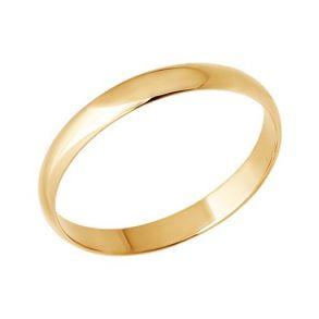 Классическое обручальное кольцо 110031 SOKOLOV