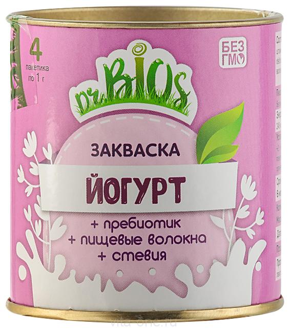 Закваска Йогурт Dr.BIOS (Доктор Биос) 4 г