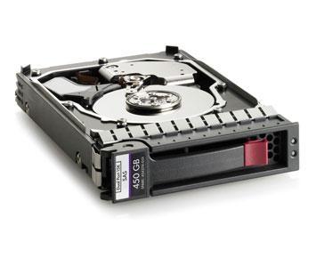 Жесткий диск HP 450GB 6G 15K 3.5 DP SAS HDD, 516810-002, 516816-B21