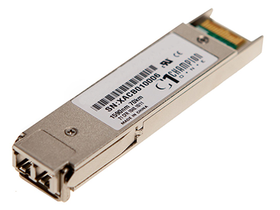 Модуль XFP CWDM оптический, дальность до 70км (23dB), 1570нм