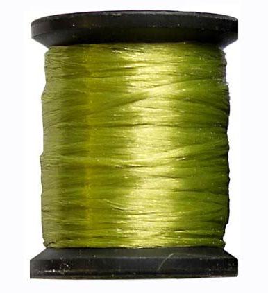 Ацетатный шелк 10м. оливковый