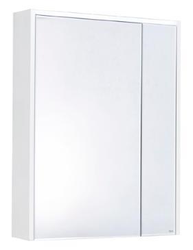 Зеркало-шкаф 80 см Roca Ronda ZRU9303009 бетон/белый глянец