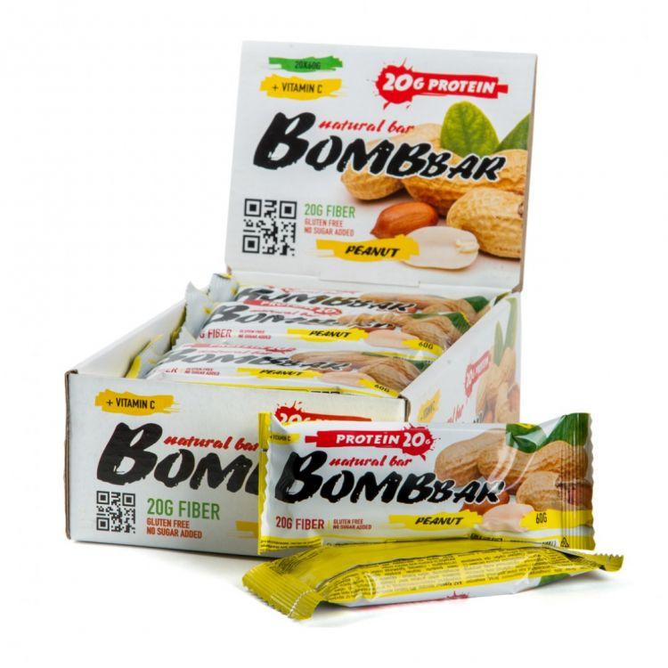 "Bombbar со вкусом ""АРАХИС"" 60 гр"