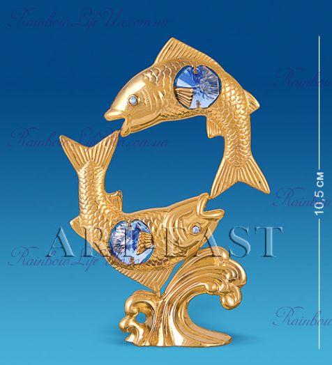 "Фигурка рыбы с камнями ""Swarovski"""