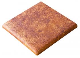Ступень угловая Esquina Jasper Marron 33×33