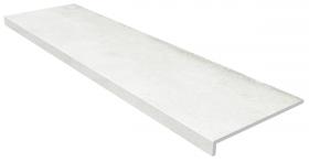 Ступень фронтальная Gres de Aragon Urban Anti-Slip Blanco Smooth 33×120