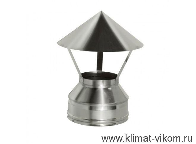 Зонт ф 100, AISI 439/0,5мм, тип-2