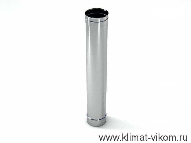 Труба ф 120,  0,25м, AISI 439/0,5мм